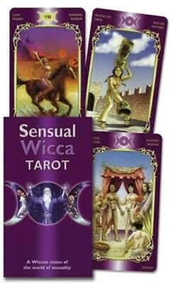 NEW Sensual Wicca Tarot Deck Sealed 78 Cards Divination Metaphysical
