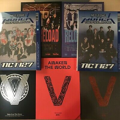 Nct 127, Nct Dream, Wayv Album No Photocard - Punch, Reload, Totm Sequel [Read]