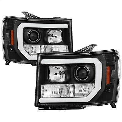 Spyder Auto 5083630 Light Bar DRL LED Projector Headlights