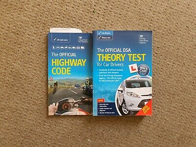 Official DSA Theory Test Car Driver Book and Highway Code Book