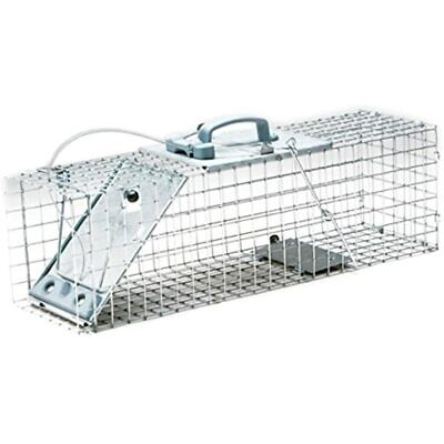 1084 Easy Set One-Door Cage Trap For Rabbits, Skunks, Minks And Large Squirrels