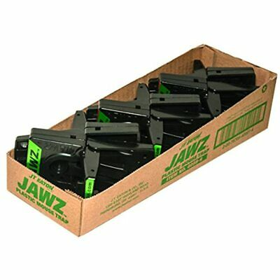 JT Eaton 409B-6 Jawz Plastic Mouse Trap For Solid Or Liquid Bait, Pack Of Garden