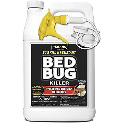 Toughest Bed Bug Killer, Liquid Spray With Odorless And Non-Staining Extended