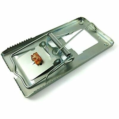 Pack Of 4 Classic Metal Rat Traps Fully Galvanized - Humane That Work Snap &amp