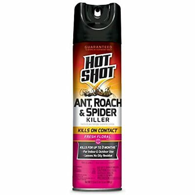 Hot Shot HG-96781 Ant, Roach &amp Spider Killer Insecticide, Brown/A Garden FREE
