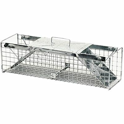 1030 Live Animal Two-Door Rabbit, Squirrel, Skunk, And Mink Cage Trap Home Pest