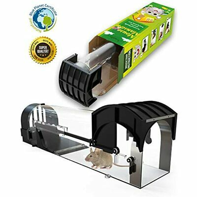 Mouse Mansion Humane Trap - Traps That Work Animal Friendly Trap, With Big Cage
