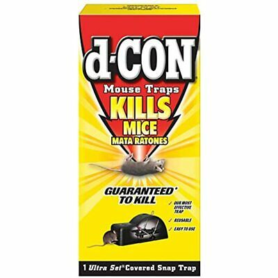 D-Con Reusable Covered Mouse Snap Trap, 1 (Pack Of 5) Garden &amp Outdoor FREE