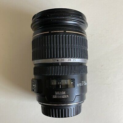 Canon EF-S 17-55mm F2.8 IS USM Front  & Rear Caps, Hood