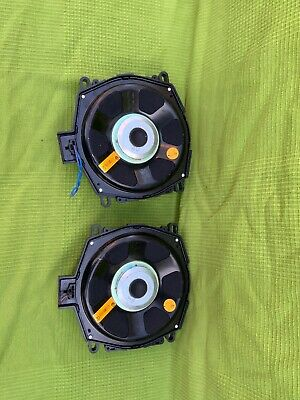 Bmw F25 F26 F15 F16 Under Seat Subwoofers Central Bass Speakers X3 X6 X5 9247484