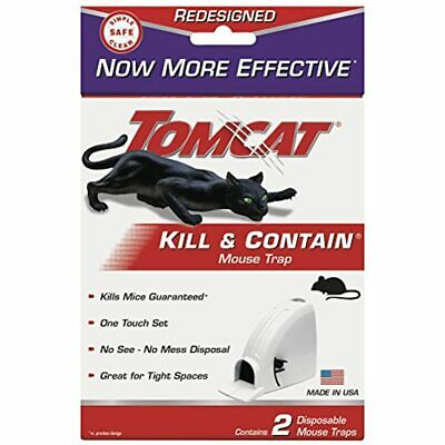 Kill And Contain Mouse Trap, 2-Pack Garden &amp Outdoor FREE SHIPPING