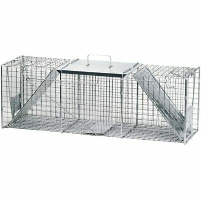 1045 Live Animal Two-Door Raccoon, Stray Cat, Opossum, And Groundhog Cage Trap