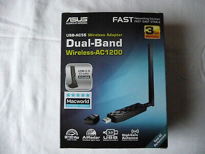 Dual-band Wireless ASUS USB-AC56