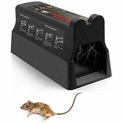 Electronic Rodent Zapper - Effective &amp Humane Mouse Trap That Works For Rats,
