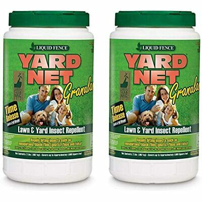 Set Of 2 Granular Insect Bait Lawn Yard Repellent Safe Release Lb - Enjoy And