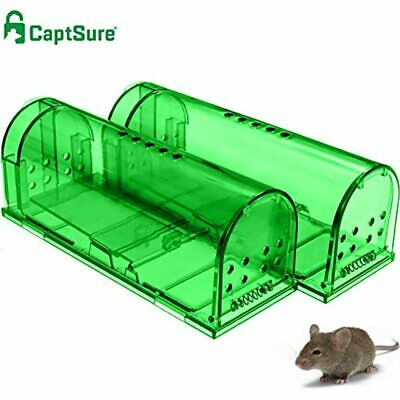 Original Humane Mouse Traps, Easy To Set, Kids/Pets Safe, Reusable For Use, That