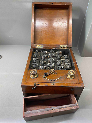 Rare Antique Battery Box by Maw & Son