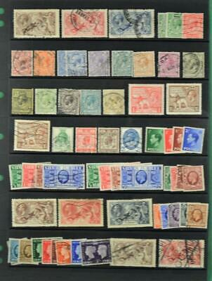 Gb  Stamps Selection On Large Stock Card     (C30)