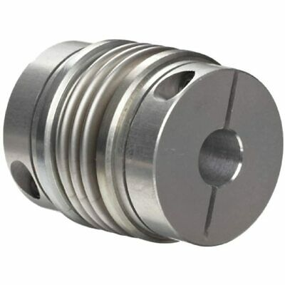 536.26.2828.Z Size Flex-B Bellows Coupling, Stainless Steel With Aluminum Hubs,