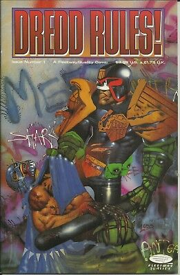 Dredd Rules #1-20 by Simon Bisley & others
