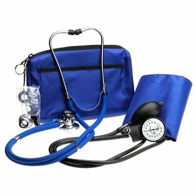 Prestige Sphygmomanometer And Stethoscope Kit With Matching Royal Blue Carrying