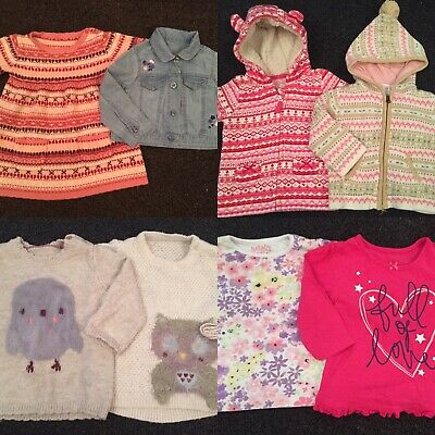 Large Baby Girls 6-9 Month Clothes Bundle