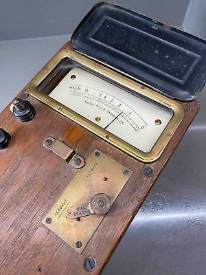 Antique Electrical Insulation Test Set with built-in generator (No. 1)