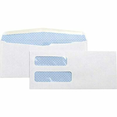 No. 10Double Window Invoice Envelopes (36694) Office Products FREE SHIPPING