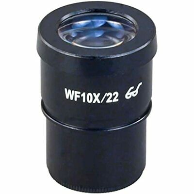 OMAX WF10X/22 High Eye Point Widefield Eyepiece For Microscope 30.0mm Camera