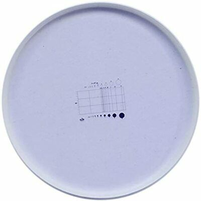 Microscope Micrometer Net Shaped Eyepiece Calibration Ruler Slides Area &amp