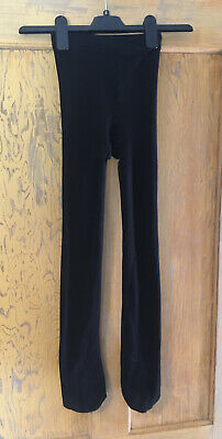 Primark girls thick black tights age 9-10 years