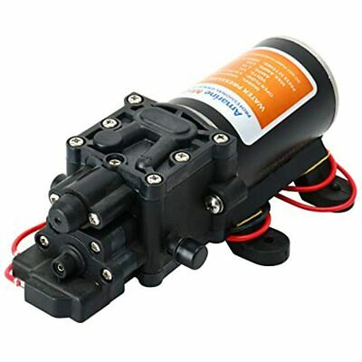 12v Self Priming Water Pressure Diaphragm Pump 1.3 GPM 100 PSI For Sports &amp