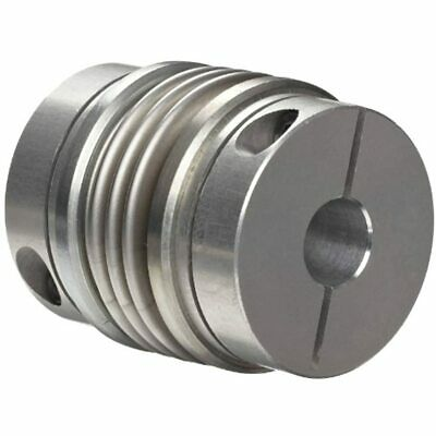 536.41.4747.Z Size Flex-B Bellows Coupling, Stainless Steel With Aluminum Hubs,