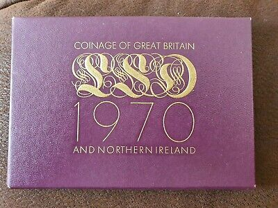 ROYAL MINT 1970  Coinage Of Great Britain & Northern Ireland Proof Coin Set (1)
