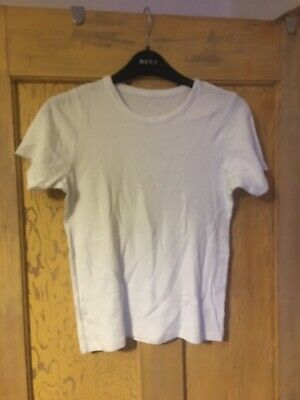 Marks & Spencer boys white T-shirt age 11-12 years