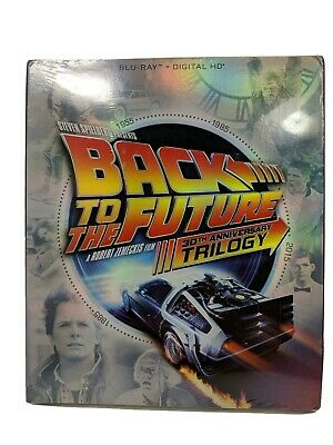Back to the Future 30th Anniversary Trilogy Blu-ray New DVD!