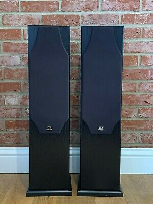 Monitor Audio Silver 5i Front Speakers (Pair) 150W RMS Black Oak