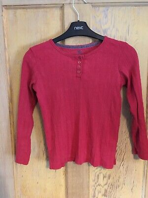 Young Dimension girls maroon long sleeve top age 9-10 years