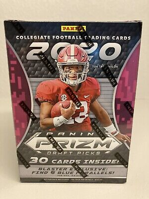 2020 Panini Prizm Draft Picks Football Blaster Box SEALED: JOE BURROW,TUA ROOKIE
