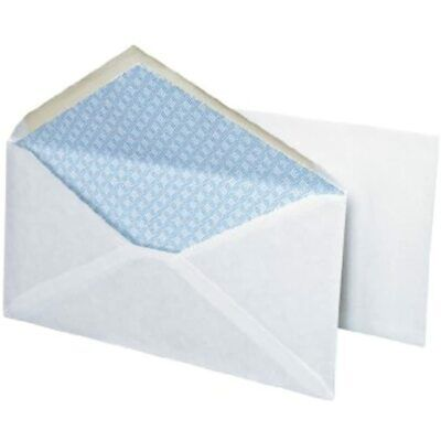 Business Envelope, White, 10, Security, Gummed, 40-Box Office Products FREE