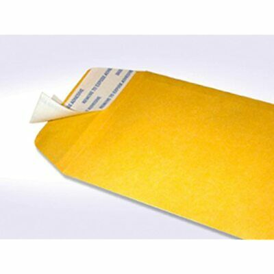 7 Coin Brown Kraft Envelopes, Peel &amp Seal, For Small Parts, Cash, Pack Of 100