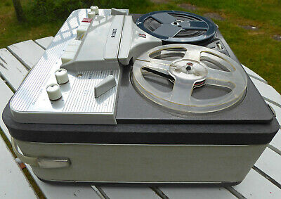 Vintage Reel to Reel Tape Recorder Deck - Philips - with built in amplifier
