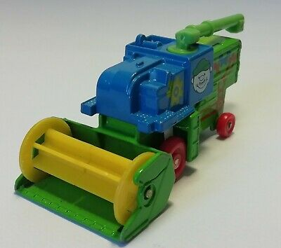Vintage Matchbox COMBINE HARVESTER 1977 Green With Stickers Diecast Metal Toy