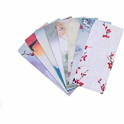 22 Retro Paper Envelope Special Chinese Style Letters 8 Patterns Lovely Design