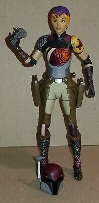 "2016 Hasbro Star Wars Black Series #33 Sabine Wren 6"" Scale Figure"
