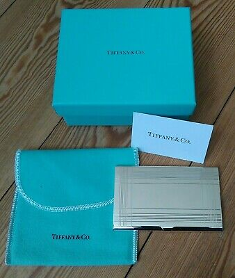 Tiffany & Co Sterling Silver business/bank card case
