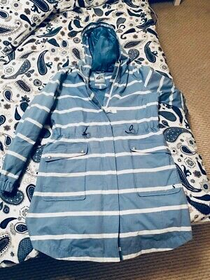 Ladies Joules Right as Rain Parka size 16