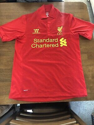 Liverpool FC 2012-13 Home Kit - Warrior - Mens Size Small