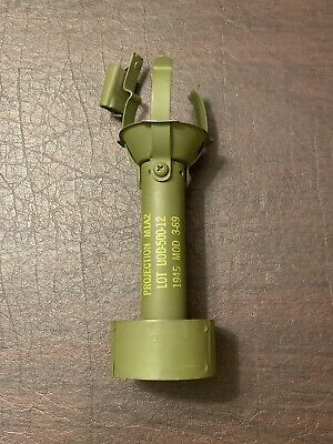 Original WW2 Rifle Projector Adaptor Modified for Vietnam War.   New Old Stock