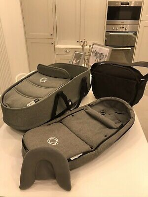 Bugaboo bee 3/5 Carrycot grey melange, Immaculate!